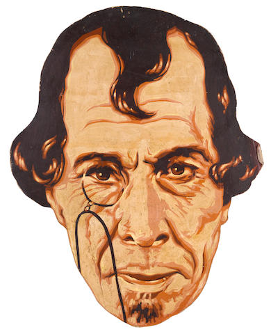 A portrait of George Arliss as Disraeli
