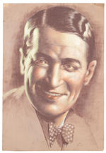 A pair of portraits of Maurice Chevalier