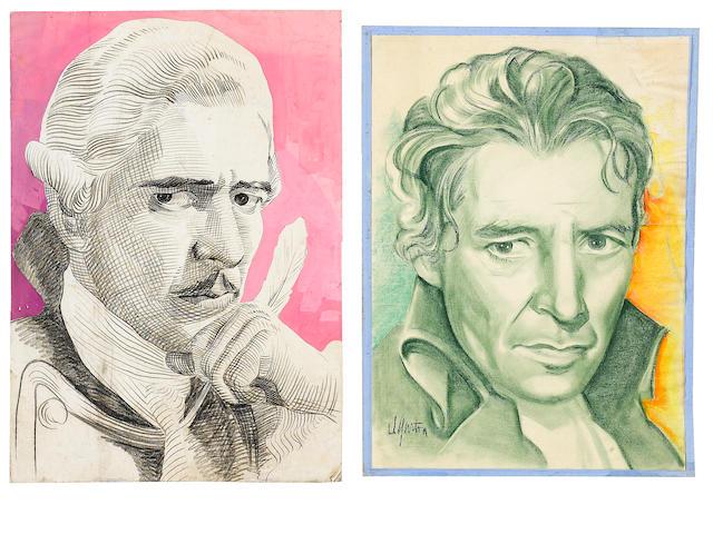 2 Ronald Colman personality portraits