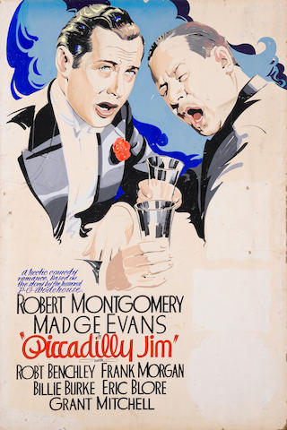 Robert Montgomery and Madge Evans, Piccadilly Jim, MGM, 1936, together with another version