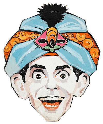COMEDIANS.  3 items: Joe E. Brown personality portrait; Joe E. Brown caricature; Eddie Cantor caricature