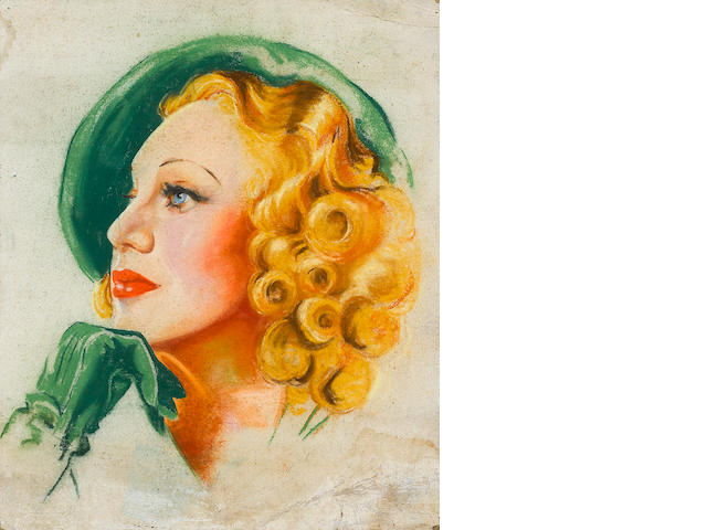 A Ginger Rogers portrait
