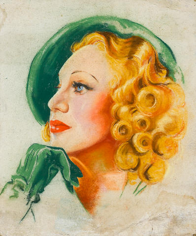A Ginger Rogers portrait