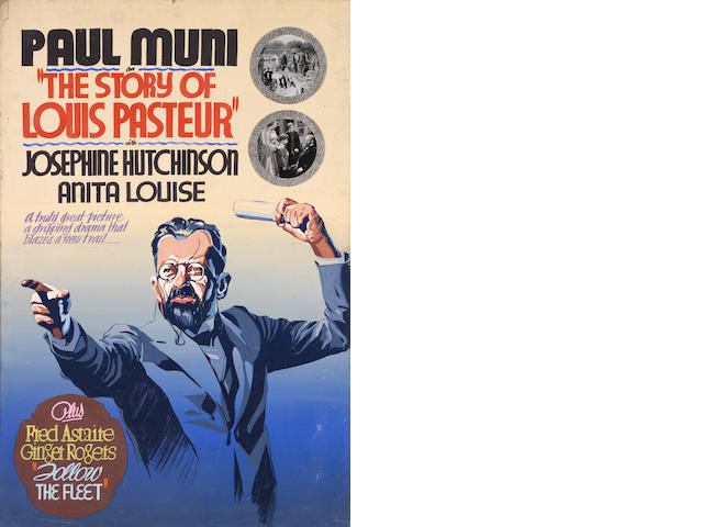 Paul Muni, The Story of Louis Pasteur, Warner Bros., 1936; Paul Muni, The Story of Louis Pasteur, Warner Bros., 1936 (another version); Paul Muni personality portrait