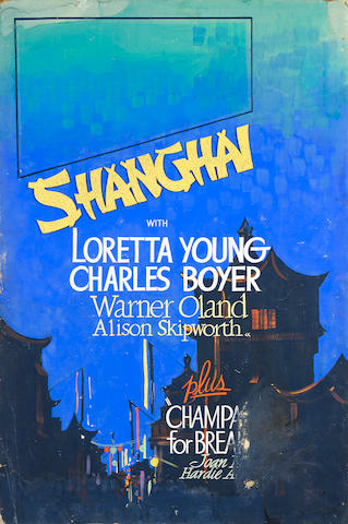 Loretta Young in Shanghai, Paramount, 1935, with another Loretta Young title on verso