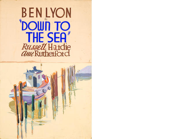 Ben Lyon, Down to the Sea, Republic Pictures
