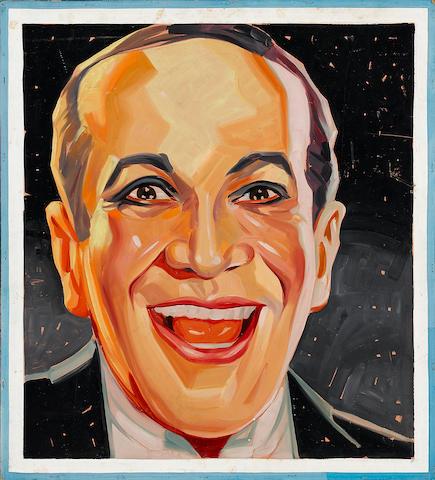 An Al Jolson portrait