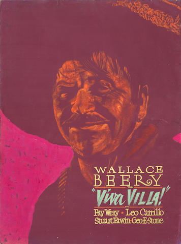 3 Wallace Beery lobby artworks