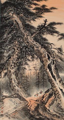 Li Xiongcai (1910-2001)  Autumn Landscape, 1982