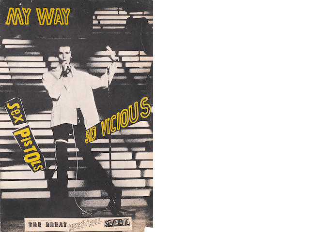 Sex Pistols, Sid Vicious My Way Poster