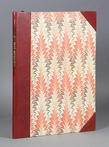 WOOLF, VIRGINIA. 1882-1941. Beau Brummell. New York: Rimington & Hooper, 1930.