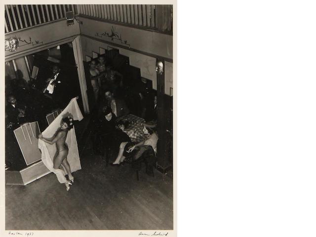 Aaron Siskind (American, 1903-1991); Harlem;