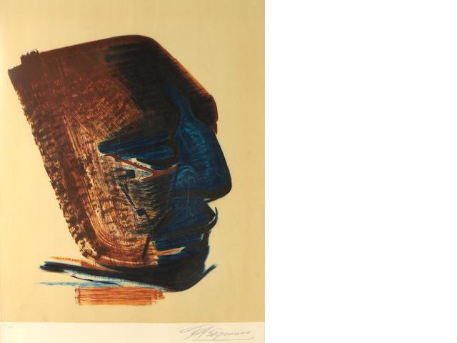 David Alfaro Siqueiros (Mexican, 1896-1974); Mask;