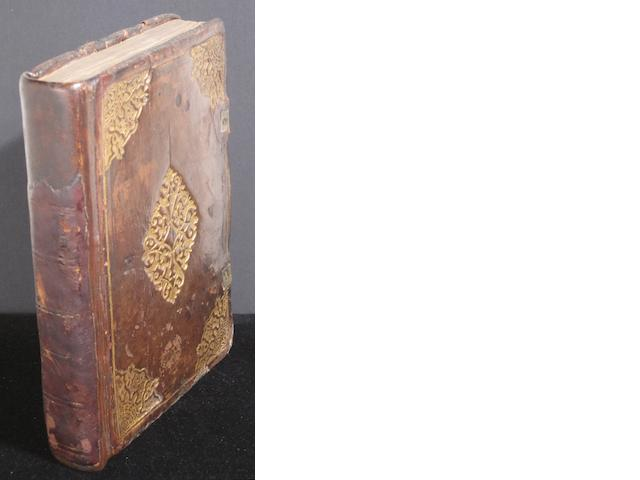 PSALMS—BINDING. The Whole Booke of Psalmes, with the Prose on the margin. London: Company of Stationers, 1613.<BR />