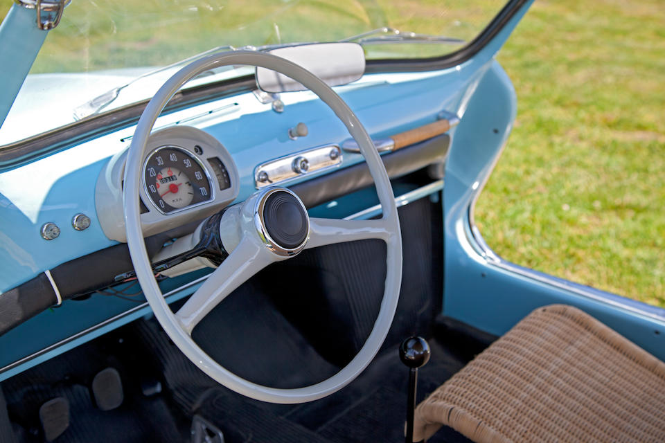 1960 Fiat 600 Jolly  Chassis no. 100674748 Engine no. 734093