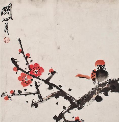 Guan Shanyue(1912-2000)  Flower&Bird