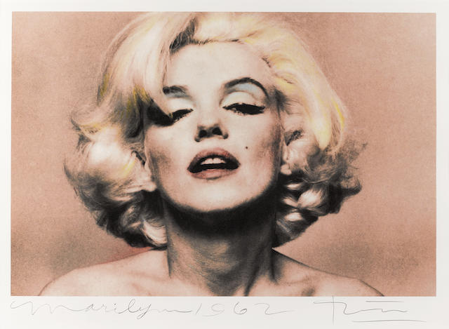 A Bert Stern portrait of Marilyn Monroe