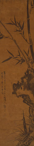 After Wu Zhen (1280-1354) Ink Bamboo