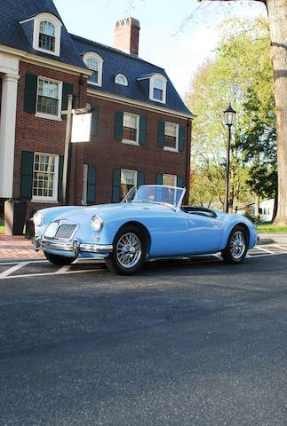 1957 MGA Convertible  Chassis no. HDL4330150