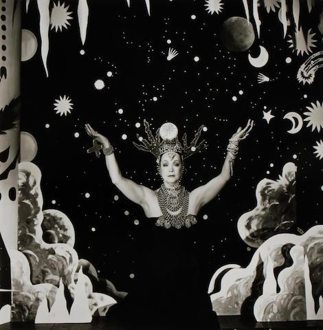 Steven Arnold (American, 1943-1994); Velasquez meets Kabuki; Lure of Psychic; Self Portrait; Untitled; (4)