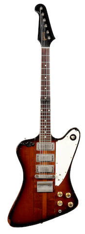 A 1964 Gibson Firebird III used by Motown artist Eddie Willis