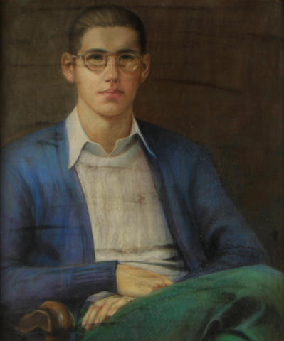 Maxim M. Zdasiuk, Portrait of a Young Man
