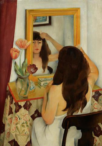 Minetta Good (American, 1895-1946) Vanity 34 1/4 x 24in
