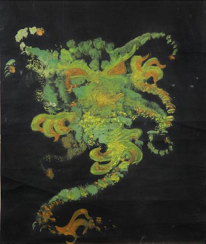 An original Jimi Hendrix painting