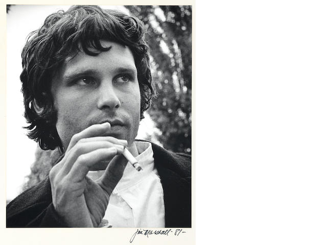 A Jim Marshall photograph of Jim Morrison