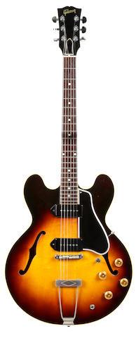An Eric Clapton 1960 Gibson ES-330TD