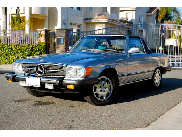 1985 Mercedes-Benz 380SL,