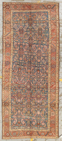 A Bakhshaish long carpet Northwest Persia, size approximately 5ft. 8in. x 13ft. 7in.