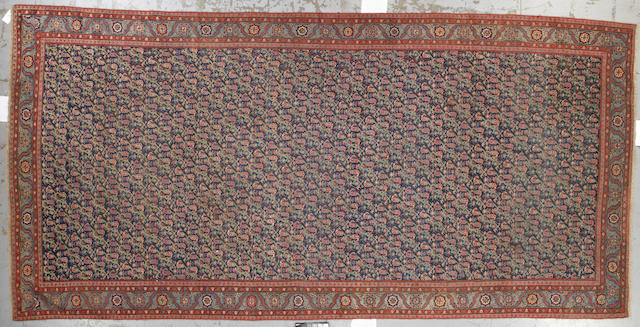 A Karabagh carpet Caucasus size approximately 8ft. 2in. x 17ft. 7in.