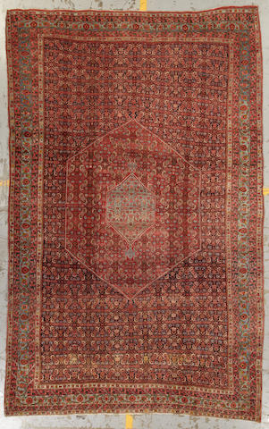 A Bidjar carpet size approximately 8ft. 1in. x 11ft. 3in.