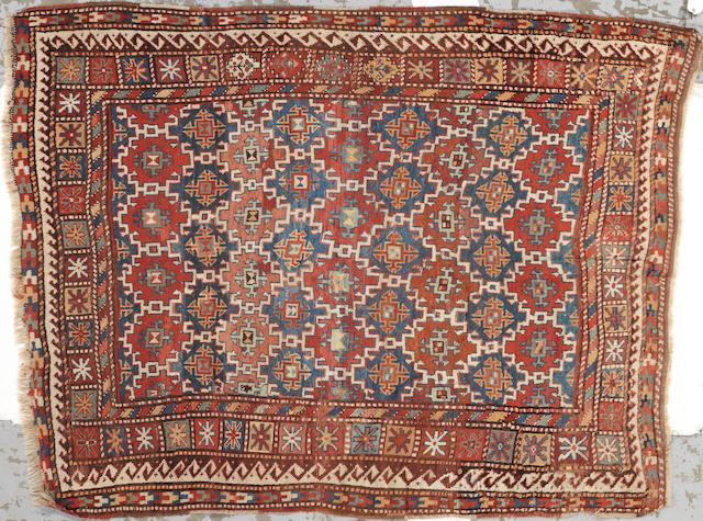 A Caucasian rug Caucasus size approximately 5ft. 9in. x 7ft. 5in.