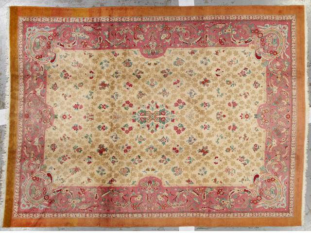 A Amritsar carpet India size approximately 10ft. 2in. x 13ft. 9in.
