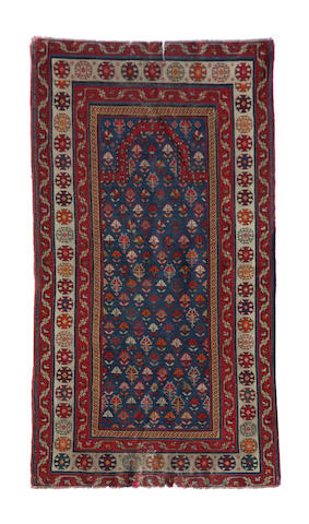 A Causasian rug approximately  4ft. x  3ft.