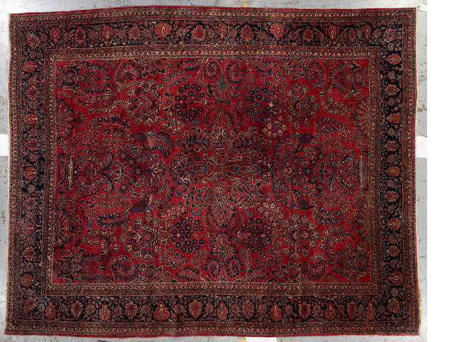 A Sarouk carpet  Central Persia size approximately 11ft. x 13ft. 5in.