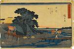 [WRIGHT, FRANK LLOYD.] HIROSHIGE, UTAGAWA. 1797-1858.