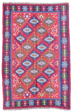A Turkish Kilim size approximately 7ft. 2in. x 11ft. 8in.