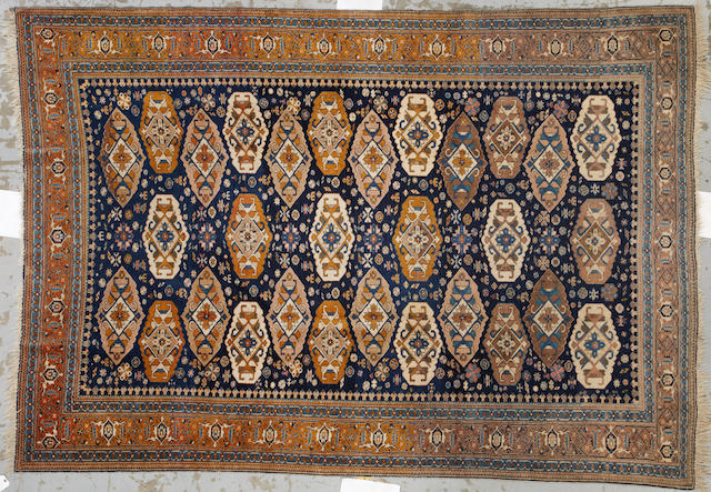 A N.W. Persian carpet  size approximately 7ft. 3in. x 10ft. 6in.