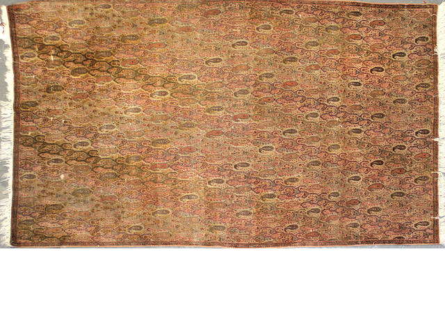 A Malayer rug  size approximately 3ft. 7in. x 6ft.