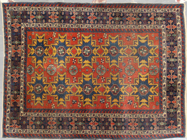 A Northwest Persian rug approximately 3ft. 3in x 4ft. 6in.