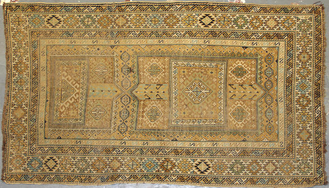 A Shirvan rug  size approximately 3ft. 8in. x 6ft.