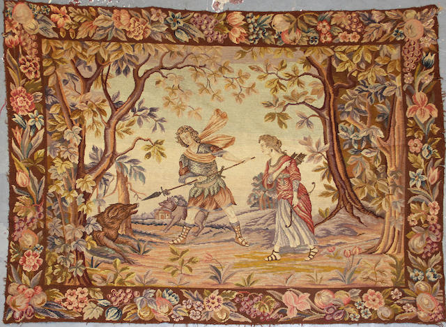A Tapestry size approximately 5ft. 8in. x 4ft. 5in.