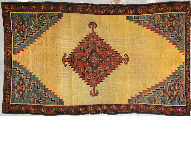 A Bakshaish rug  size approximately 2ft. 9in. x 4ft. 7in.