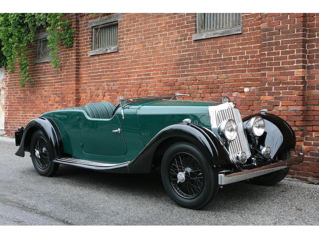 Fresh from a comprehensive restoration,1938 Aston Martin 15/98 Four Seater Sports Tourer
