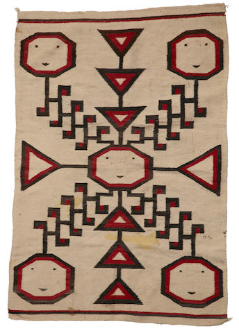A Navajo pictorial weaving