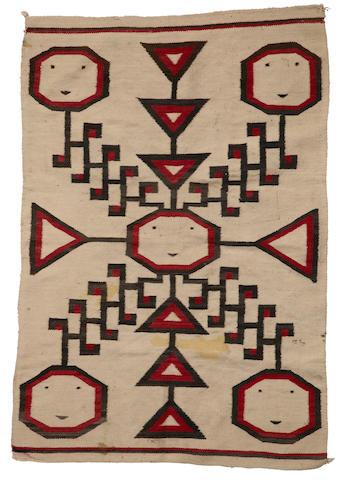 A Navajo pictorial weaving