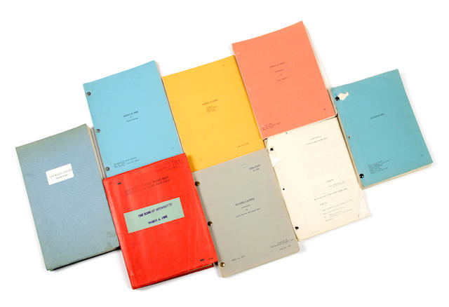 A group of drama scripts